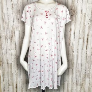 Vanity Fair | Sweet Valentine Heart Nightgown